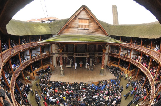 4. Shakespeare's Globe Theatre